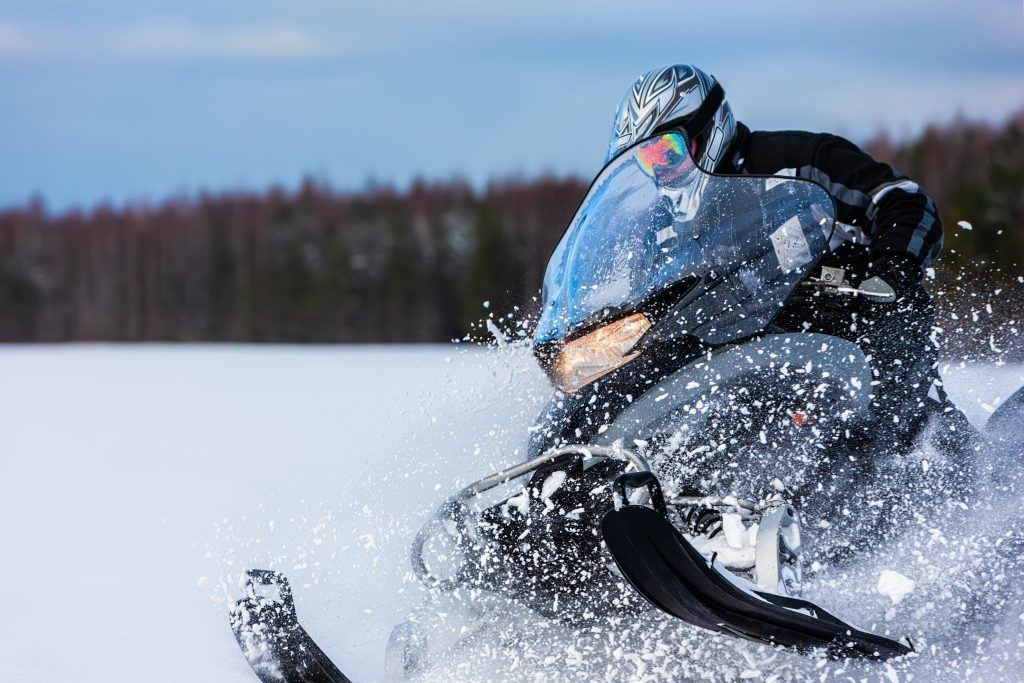 Winter Park Co Snowmobiling